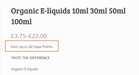 vape points customer loyalty the purest vapours