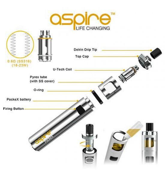 Aspire PockeX Top Cap Replacement - Vuice Vapes